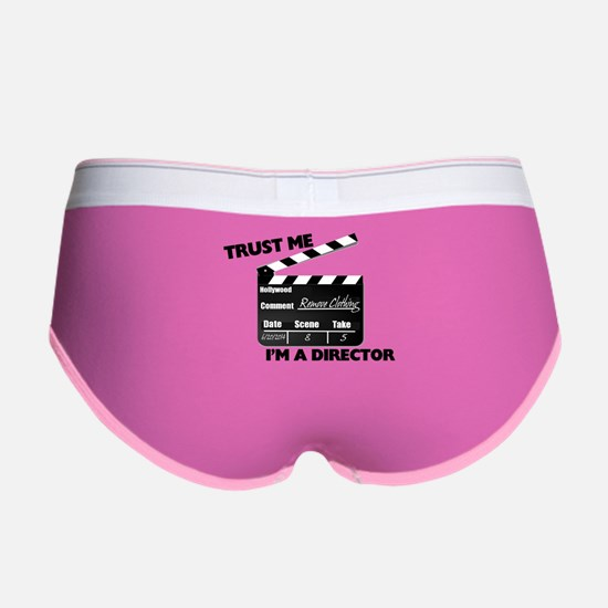 Trust Me I'm A Director Clapboar Women's Boy Brief