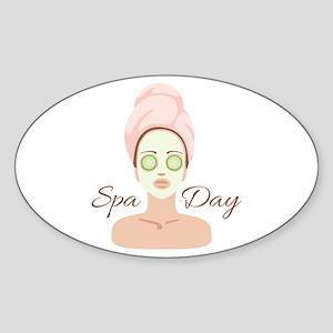 Spa Day Sticker