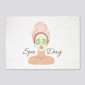 Spa Day 5'x7'Area Rug