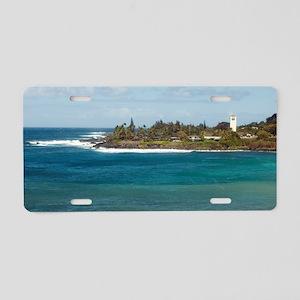 waimea beach park Aluminum License Plate