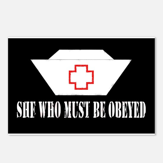 She Who Must Be Obeyed Postcards (Package of 8)