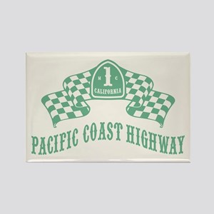 Highway 1 MC Rectangle Magnet