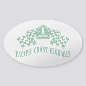 Highway 1 MC Sticker (Oval)
