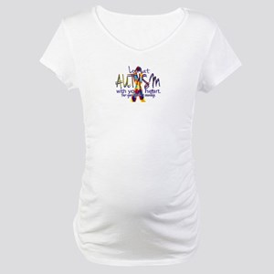 Look at Autism Maternity T-Shirt