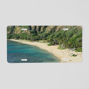 Hanuma Bay Corals Aluminum License Plate
