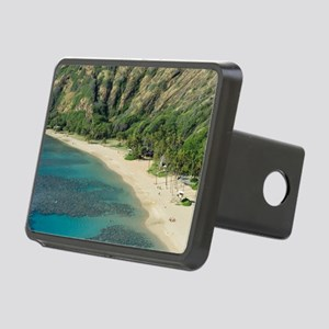 Hanuma Bay Corals Rectangular Hitch Cover