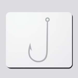 Fish Hook Mousepad