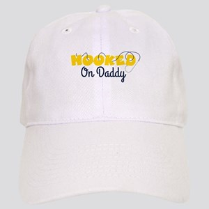 HOOKED On Daddy Baseball Cap