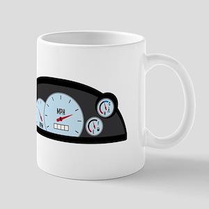 Race Car Dashboard Mugs