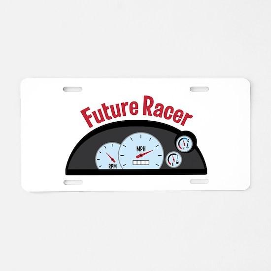 FUTURE RACER Aluminum License Plate