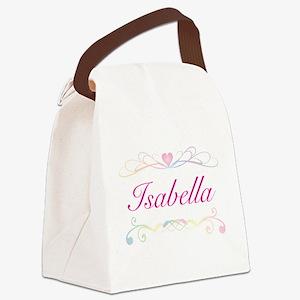 Isabella Canvas Lunch Bag