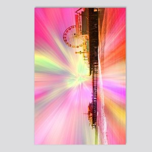 Pier Pink Explosion Postcards (Package of 8)