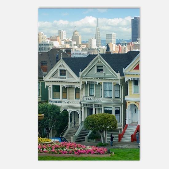 Painted Ladies Postcards (Package of 8)