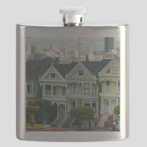 Painted Ladies Flask