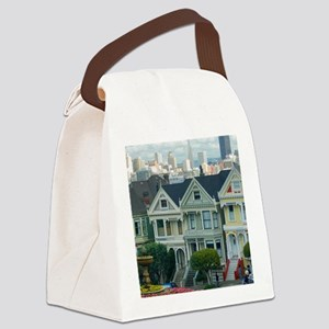 Painted Ladies Canvas Lunch Bag