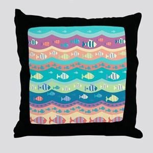 Under the Sea Throw Pillow