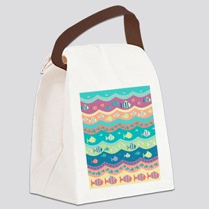 Under the Sea Canvas Lunch Bag