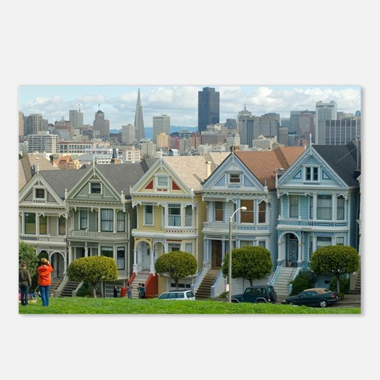Alamo Square Postcards (Package of 8)