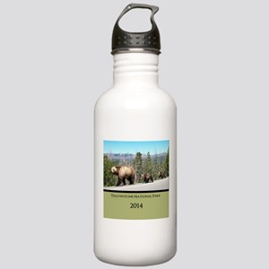 Customized Grizzly Bea Stainless Water Bottle 1.0L