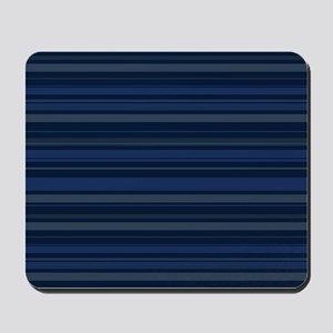 Blue Stripes Mousepad