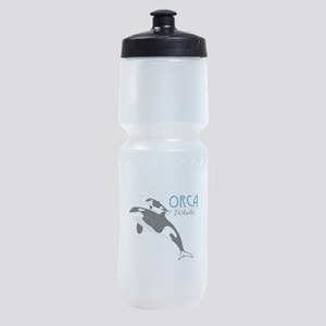 Orca Whales Sports Bottle