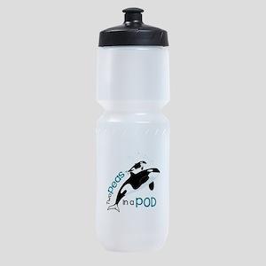 Two Peas in a Pod Sports Bottle