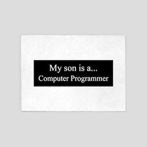 Son - Computer Programmer 5'x7'Area Rug
