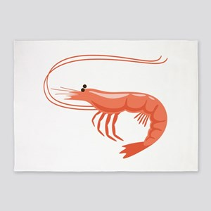 Prawn Shrimp 5'x7'Area Rug