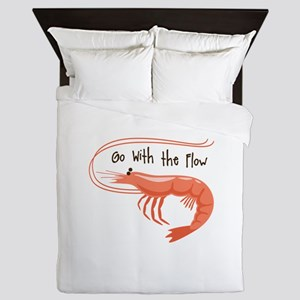 Go WIth the Flow Queen Duvet