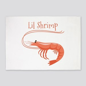 Lil Shrimp 5'x7'Area Rug