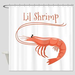 Lil Shrimp Shower Curtain