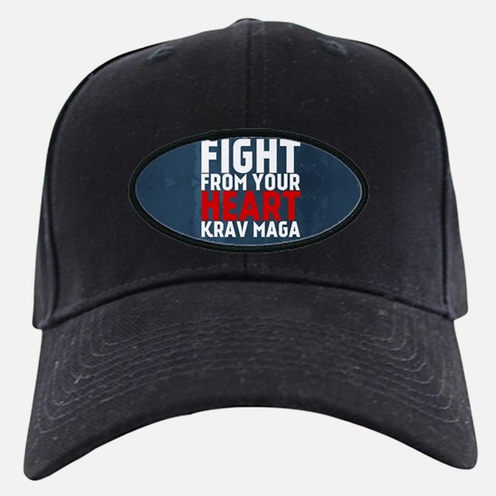 Learn from the street Krav Maga RED Baseball Hat