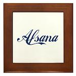 Afsana Framed Tile