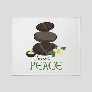Inner Peace Throw Blanket