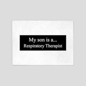 Son - Respiratory Therapist 5'x7'Area Rug