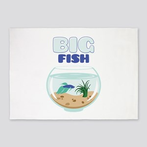 Big Fish 5'x7'Area Rug