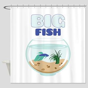 Big Fish Shower Curtain