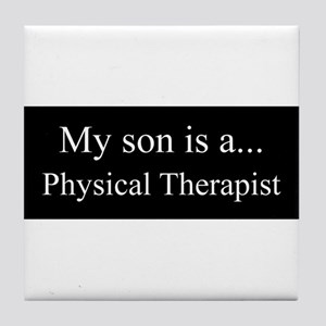 Son - Physical Therapist Tile Coaster
