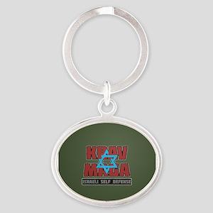 Israeli Krav Maga Magen David Keychains