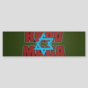 Israeli Krav Maga Magen David Bumper Sticker