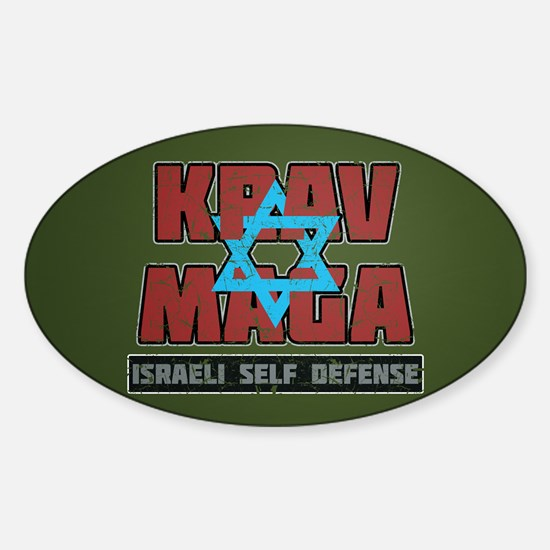 Israeli Krav Maga Magen David Decal