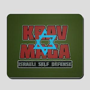 Israeli Krav Maga Magen David Mousepad