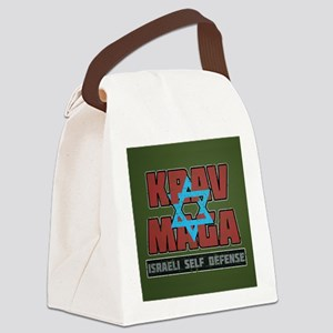 Israeli Krav Maga Magen David Canvas Lunch Bag