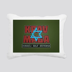 Israeli Krav Maga Magen David Rectangular Canvas P