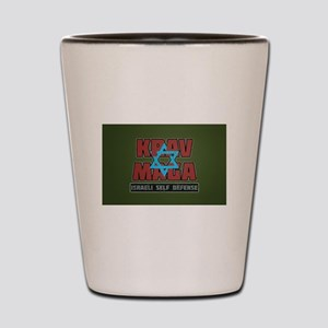 Israeli Krav Maga Magen David Shot Glass