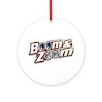 Boom & Zoom Ornament (Round)