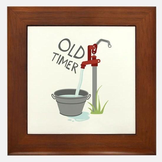 OLD TIMER Framed Tile