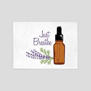Just Breathe 5'x7'Area Rug