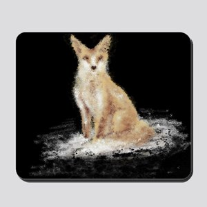 The Lonely Fox Mousepad