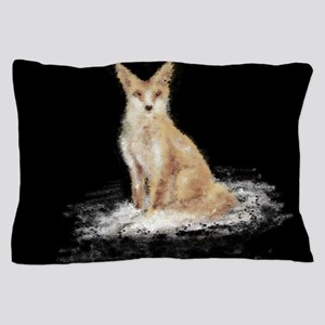 The Lonely Fox Pillow Case